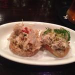 ビスポーク - リエットと鯖の燻製 カナッペ