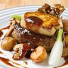多治見フレンチ - 料理写真:一番人気! 飛騨牛ハンバーグとフォアグラのロッシーニ風