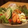 タモーチェ - 料理写真:7種野菜と鶏たたきのトルティーヤ