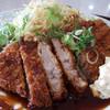 ランチ&カフェはる - 料理写真:(国産)豚肩ロース トンカツ