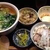 楓家 - 料理写真:【2015年4月追加】ハーフ&ハーフセット770円(餃子無しバージョン)