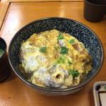 37072825 - カツ丼の卵がトロトロ