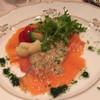 アサオガーデン - 料理写真:宴会コース 前菜 サーモンマリネ涯