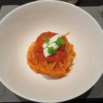 37077548 - トマトのスパゲッティ 1600円