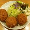 しすい亭 - 料理写真:クリームコロッケ (玉子のクリームコロッケ、鶏肉のクリームコロッケ)