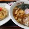 あらい食堂 - 料理写真:半チャンラーメンセット¥800