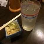 田舎三昧 とんぼ - レモンサワー(350円)
