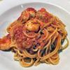 グラッチェガーデンズ - 料理写真:ピッツァ食べ放題セット(フレッシュトマトと小海老のスパゲッティ)