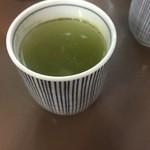 センリ軒 - 料理写真:お茶