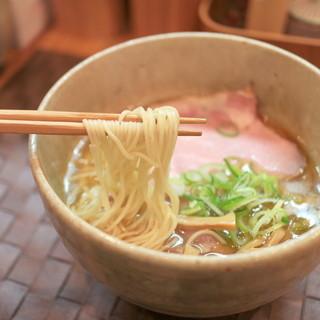 汐そば雫 - 料理写真:汐そば (760円)  '15 2月中旬