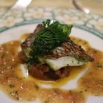 クイーン・アリス - 真鯛の香草焼き