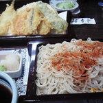 こはら - 野菜天ぷらとせいろ