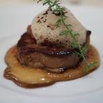 HANZOYA - 料理写真:前菜:フォアグラのポアレ