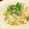 テラス フィールド - 料理写真:小柱とキャベツと長芋のオイルソース