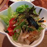 白竜 - 大根サラダ