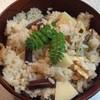 道の駅 草津 からすま農産 - 料理写真:わらびと薄揚げを入れて、筍ごはんを作りました