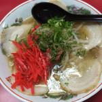 江戸金 - チャーシュー麺