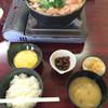 きくや旅館 - 料理写真:七面鳥鳥鍋定食