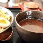 麺処田ぶし - 付け汁