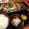 浦上ホルモン - 料理写真:おろしホルモン定食  丸腸、シロコロ、シマチョウだったかな。おろしでさっぱり頂きました (*´ڡ`●)