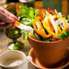 古民家バル旧本藤邸 - 料理写真:菜園鉢のバーニャカウダ