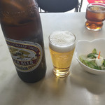 万福 - 21 瓶ビールは大瓶でアサヒかキリン