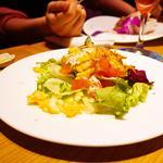 プルメリアカフェ - バリエーションサラダ