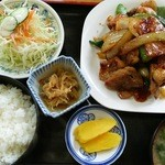 多加箸 - スタミナ定食(800円)