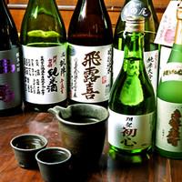 お酒の種類も豊富にご用意致しております。