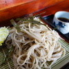 かんのや - 料理写真:ざる蕎麦(\600税込み)二八、蕎麦粉は会津のかおり。風味が良い手打ち蕎麦