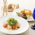 リストランテ アズーリ - 料理写真:Lunch A/1,800円(税別) ※一例・当日メニューよりお選びいただけます