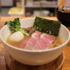 いえろう - 料理写真:牛骨ラーメン+トッピング(味玉+チャーシュー2枚)☆