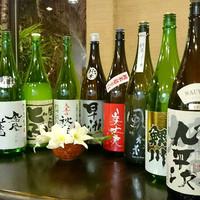 厳選仕入れ・日本酒の豊富な品揃え!