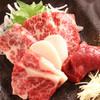 牛正 - 料理写真:馬刺し盛り合わせ