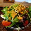 手打ち蕎麦 三乗 - 料理写真:揚げ蕎麦のサラダ