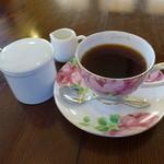 カフェノア - 食後のドリンクが付いています。(ブレンドコーヒー)