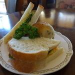 カフェノア - 自家製の、天然酵母パンを使っています。