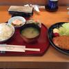 日本料理 いずみ - 料理写真:ランチ とんかつ定食 1200円