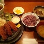 37270673 - 牡蠣フライ定食