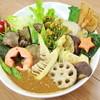 アーリオ・オーリオ - 料理写真:当店一押しの、野菜ゴロゴロカレーの春ver(筍入りです) ¥1200