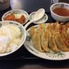 日高屋 - 料理写真:ダブル餃子定食