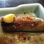 神田まつや - 料理写真:大好きなネギにはカラシと柚子七味のダブル攻撃です。