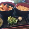 やぶ - 料理写真:やぶ定食 冷たい蕎麦