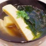 もり川 - 料理写真:若竹煮