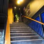 シークレットゲート カフェ - 階段