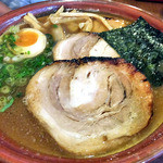 37309945 - らー麺・ちゃーしゅう(大盛)(2015年4月)