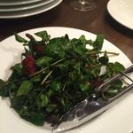 フラテッロ - クレソンとベーコンのサラダ