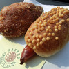 ベーカリー サンシロウ - 料理写真:ぶぶフランキーと三ちゃんカレーパン
