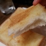 Sola - バタートースト断面。