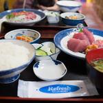 魚料理 ホノルル食堂 - 御さしみ定食